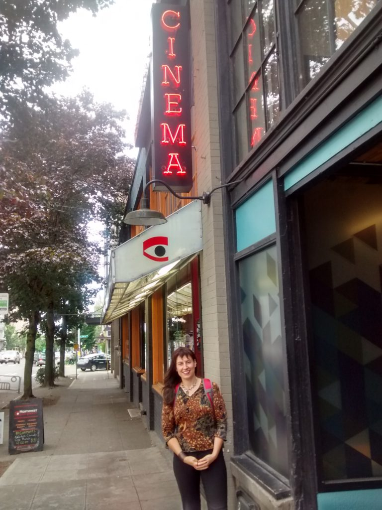 Eleni at Seattle's NW Film Forum