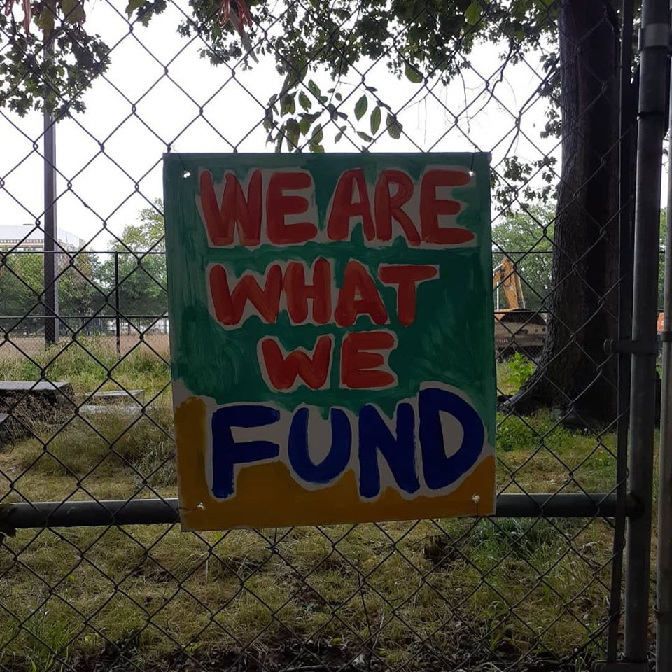 we are what we fund